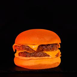 Plain Double Cheeseburger