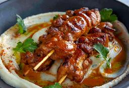 Brochetas de Pollo Thai