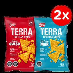 Promo: 2x Tortillas Terra 180 g variedades