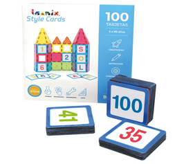 Imanix Style Cards Set Números Del 1 Al 100 100 Tarjetas
