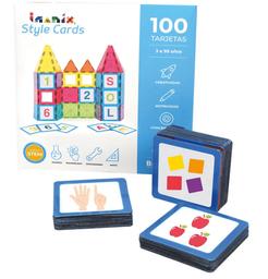Imanix Style Cards Set Representaciones Numéricas 100 Tarjetas