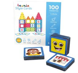 Imanix Style Cards Set Temático La Comunidad+Emociones 100 Tarj