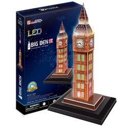 Cubicfun 3D Puzzle Big Ben Led 28 Piezas