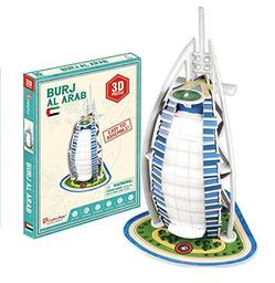 Cubicfun 3D Puzzle Burj Al Arab 17 Piezas