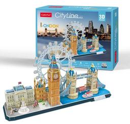 Cubicfun 3D Puzzle Cityline London 107 Piezas