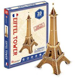 Cubicfun 3D Puzzle Eiffel Tower 20 Piezas