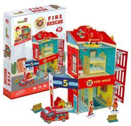 Cubicfun 3D Puzzle Fire Rescue 89 Pieces P813H