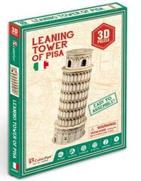 Cubicfun 3D Puzzle Leaning Tower Of Pisa 8 Piezas