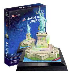 Cubicfun 3D Puzzle Led Statue Of Liberty 37 Pieces L505H
