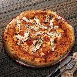Pizza Pollo a las Hierbas
