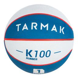 Mini Balón De Basketball Infantil Talla 1 Blanco Y Azul