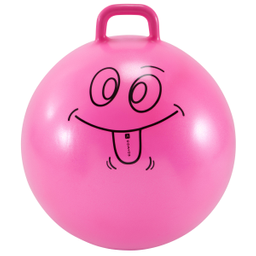 Balon Saltador Resist 60 Cm Gimnasia Niños Rosado