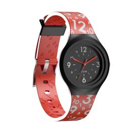 Reloj Deportivo Con Agujas Infantil A300 S Rojo
