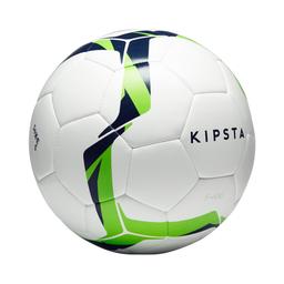 Balon De Futbol HíBrido F100 Talla 5 Blanco Y Verde