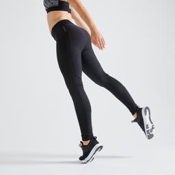 Calzas Cardio Fitness Mujer Negras 120