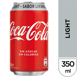 Coca Cola Light Lata 350 Cc