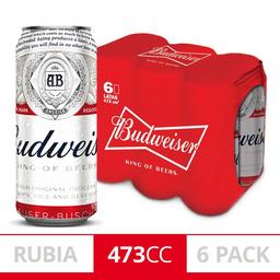 Budweiser lata 473cc
