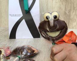 Paleta chocolate Elmo Nicole&Cédric