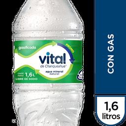 Agua Mineral Vital C/Gas Pet 1.6Lt