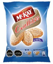 Galletas Criollitas Sabor Vainilla Bajas en Grasa 100 g