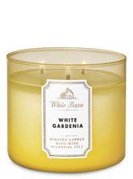 Vela Perfumada White Gardenia - Bath And Body Works