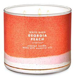 Vela Perfumada Georgia Peach - Bath And Body Works