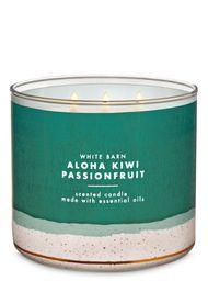 Vela Perfumada Aloha Kiwi Passionfruit - Bath And Body Works