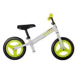 Bicicleta sin pedales de 10 pulgadas para niños Blanco