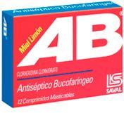 AB Miel Limon x 12 comprimidos