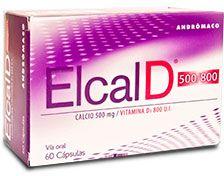 Elcal-D 500/800mg x 60