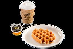 Combo Café Grande + Waffle