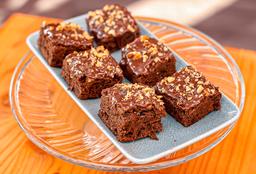 Brownie con Fudge de Chocolate