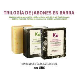 TRILOGÍA DE JABONES KÓ 110 GRS