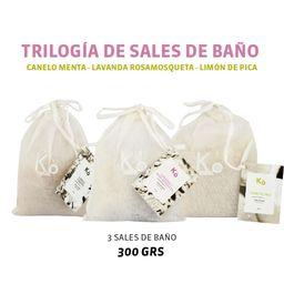 TRILOGÍA DE SALES DE BAÑO 300 GRS