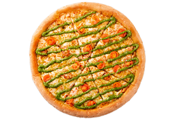 Pizza Napolitana Caprese Mediana