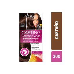 Coloración Creme Gloss 300 Castaño Oscuro