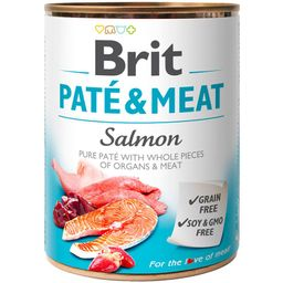 Brit Care Pate and Meat Salmon 800gr