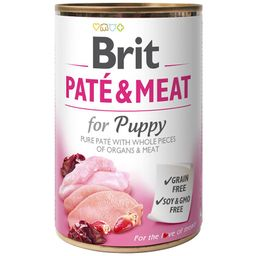Brit Pate and Meat Puppy Chicken and Turkey 400gr