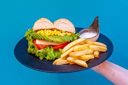 Promo Sánguche Vegetariano