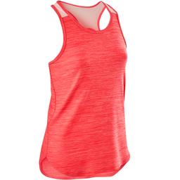 Camiseta sin mangas niña GIMNASIA INFANTIL rosa