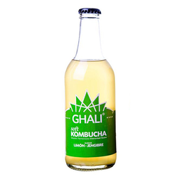 Ghali Bebida Kombucha Soft Limón Jengibre