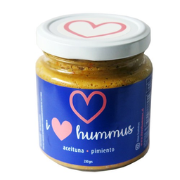 I Love Hummus Hummus Aceituna Pimiento