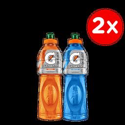 Promo: 2x Bebida Isotonica Gatorade 750cc Variedades