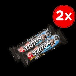 Promo: 2x Galleta Triton 126g Variedades