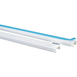Schneider Canaleta Plástica Adhesiva Blanca 20 x 12 mm