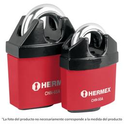 Hermex Candado de Seguridad Hierro 65 mm