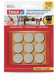 Tesa Fieltro Anti-Rasguños Uso Pesado Beige 26 mm