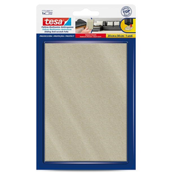 Tesa Fieltro Anti-Rasguños Uso Pesado Beige 15 x 20 cm