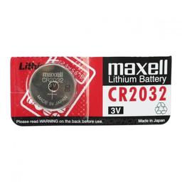 Maxell Pila Tipo Botón Cr2032 3V