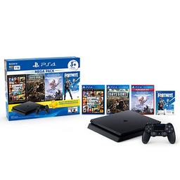 CONSOLA PS4 1TB MEGA 6 3 Juegos 3M PS Plus